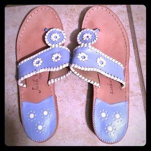 Jack Rogers 7.5 Light Blue Sandals